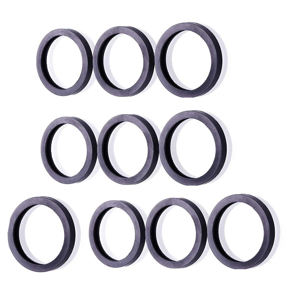 6 Gas Spout Gaskets Replacement Rubber Fuel Can Spout Seals for Universal Plastic 5 Gal 10 20L Fuel Tank Spout