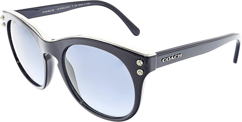 0fe386e43078 50% off coach hc8190 sunglasses 542217 navy 51 19 140 amazon shoes bags  4d00e 960a9