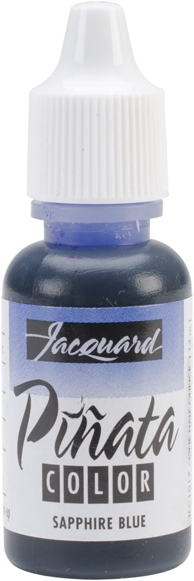 Jacquard Tintas con Alcohol de Colores, Azul (Zafiro), 1/2 oz
