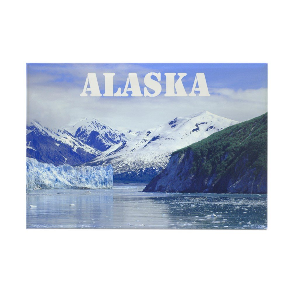 Amazon.com: CafePress – Beautiful Scenic Alaska – Rectángulo ...