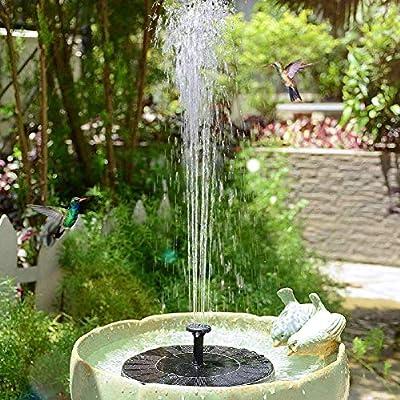 animes Fuente de agua solar de 5.3