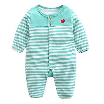28f20fbd4a1f5 エルフ ベビー(Fairy Baby)新生児服 カバーオールロンパース 前開き 長袖 四季兼用 クマ