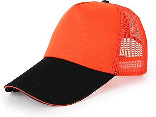 woyaochudan Sombrero de Street Net, Gorra roja Masculina, Visera ...
