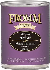 Fromm Gold Venison and Beef Pâté 12/12.2 Oz