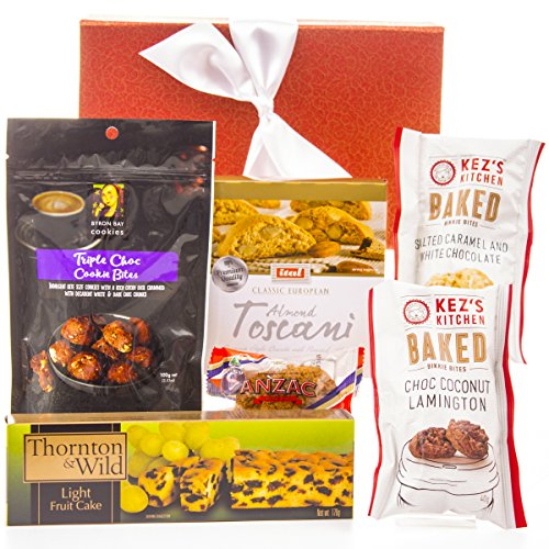 Hamper World Gift Basket with Byron Bay Cookies