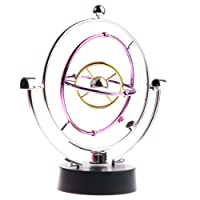 MagiDeal Novel Cosmos Asteroid Revolving Perpetual Motion Gadget Desk/ Table Decoration Ornaments Science Physics Toy