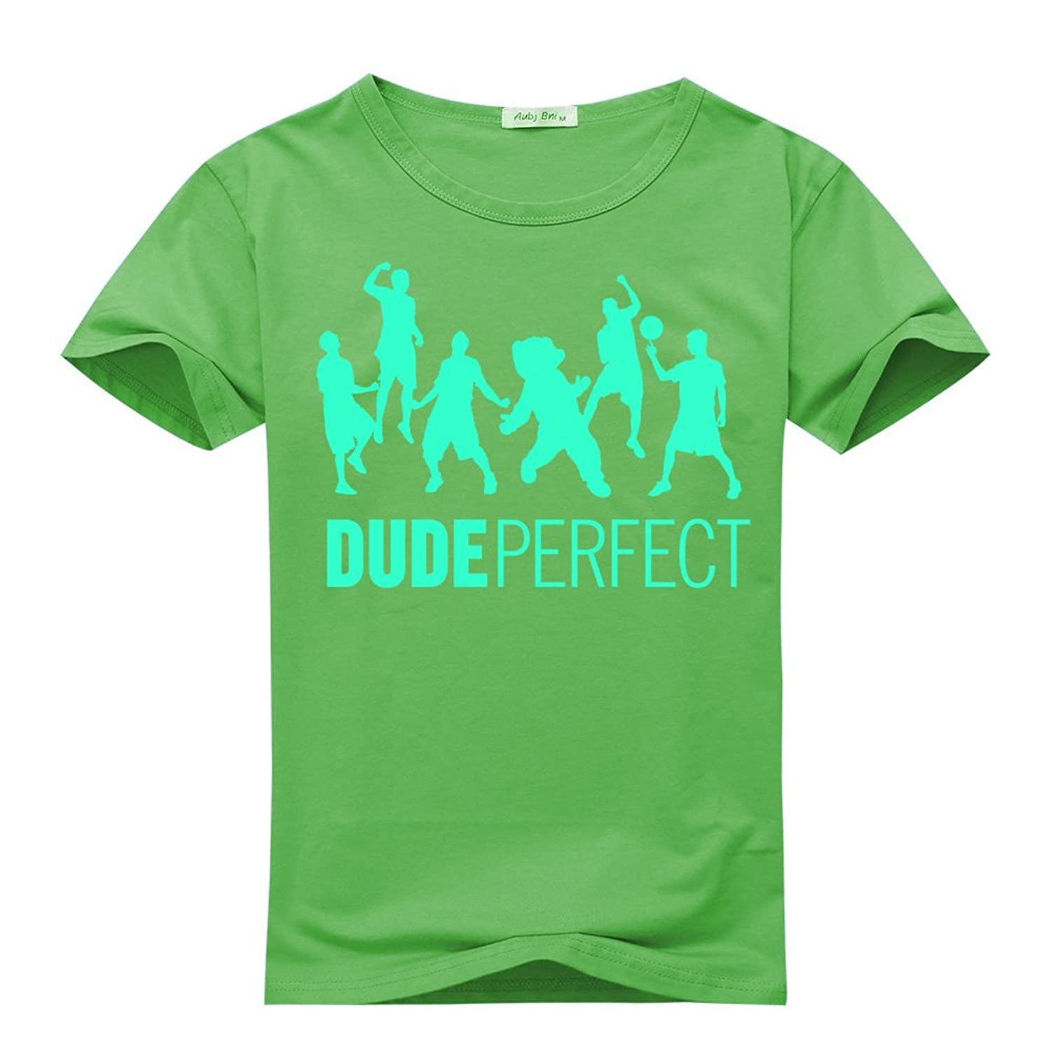 Dude Perfect Action Figure For boys/girls Printed Short Sleeve Tee Tshirt
