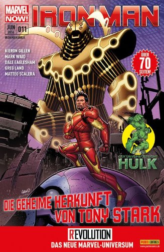 Iron Man & Hulk #11 - Die Geheime Herkunft des Tony Stark (2014, Panini) ***MARVEL NOW*** Comic – 2014 Diverse Panini Verlag B00KLIUUMY Belletristik - Comic