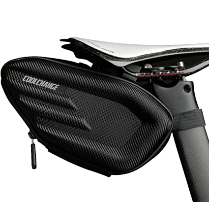 049bfcd2ddb Image Unavailable. Image not available for. Color  Cool Change Bike Wedge Saddle  Bag ...