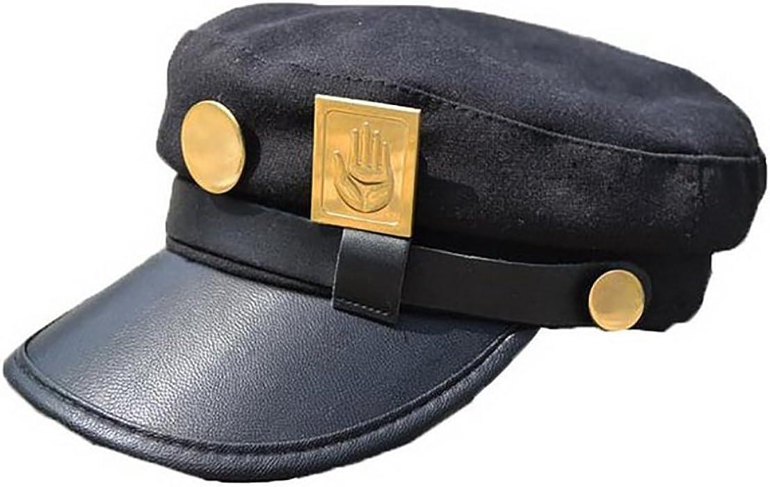 Yancos JoJos Bizarre Adventure Hat Jotaro Kujou Cap Cosplay