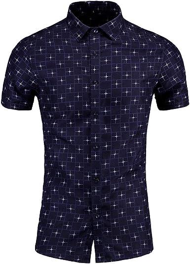 Sylar Camisetas Manga Corta Hombre Camisa Hawaiana Verano Moda Estampado Blusas de Hombres Slim fit Casual Camisas de Playa T-Shirt Camisetas M/L/XL/2XL/3XL/4XL/5XL/6XL: Amazon.es: Ropa y accesorios