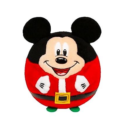 amazon com ty beanie ballz mickey mouse christmas toys games