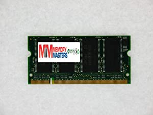 """MemoryMasters 512MB SDRAM SODIMM (144 Pin) LD 133Mhz PC133 for Apple Compatible Mac Memory iBook 800MHz 12 (M8758LL/A) 155"""" 512MB"""