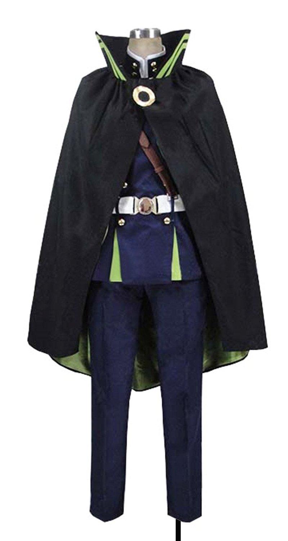 Dreamcosplay Anime Seraph of the End Yūichirō Hyakuya Battle Suit Cosplay Costume