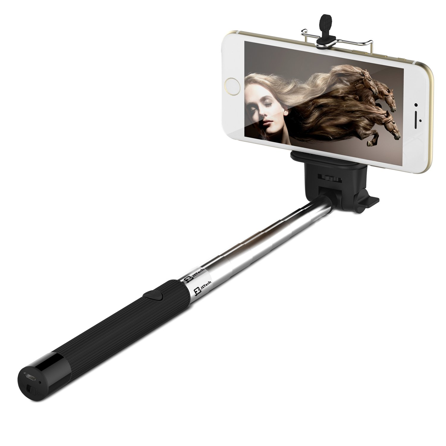 selfie stick jetech self portrait monopod extendable wireless bluetooth selfi chickadee. Black Bedroom Furniture Sets. Home Design Ideas