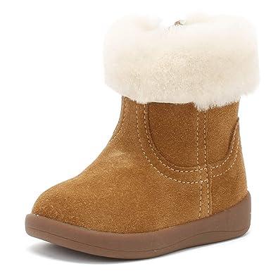 Stiefel Mädchen, Farbe Hellbraun, Marke UGG, Modell Stiefel