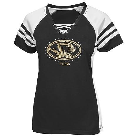 f203ac89 Amazon.com : Majestic Missouri Tigers Women's NCAA Final Quarter ...