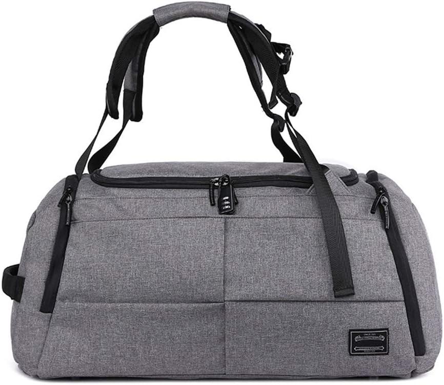 メンズハンドバッグ大容量ビジネスバッグスポーツバッグ多機能フィットネスバッグ、繊細な裏地 調節可能なショルダーストラップ