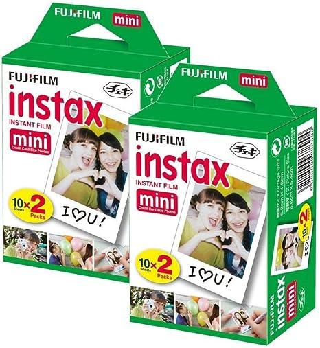 FujiFilm Instax Mini Film (40 Fotos) Multi Pack para Mini 8-9 y Todas Las cámaras Fuji Mini: Amazon.es: Electrónica