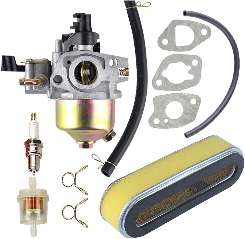 Carburetor for Honda GXV120 GXV140 GXV160 HR194 HR195 HR215 HR216 Air filter
