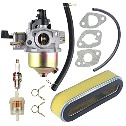 Amazon.com: hilom 16100-ze6-w01 Carburador para Honda hr194 ...