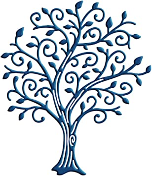 10 Tattered lace die cuts TREE OF WONDER