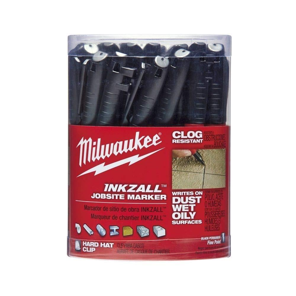 Industrial Marker, Black, Acrylic, PK36 by Milwaukee