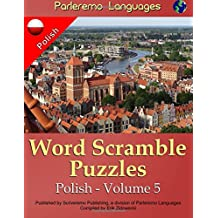 Parleremo Languages Word Scramble Puzzles Polish - Volume 5