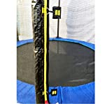 Exacme T-series Trampoline Replacement Outer Enclosure Net With Poles 6180 N008-N016 (Fit for Exacme 15ft trampoline(T-series))