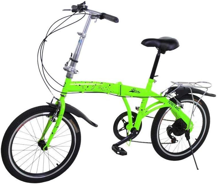 Riscko Metric Bicicleta Plegable Unisex con Ruedas de 20'