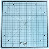 Lyfstyle Rotating Self Healing Cutting Mat / 14x14 inch/ICY Blue