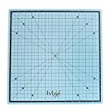 Lyfstyle Rotating Self Healing Cutting Mat/14x14 inch/Icy Blue