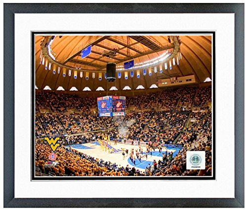 West Virginia Mountaineers Coliseum Photo (Size: 22.5'' X 26.5'') Framed by NCAA