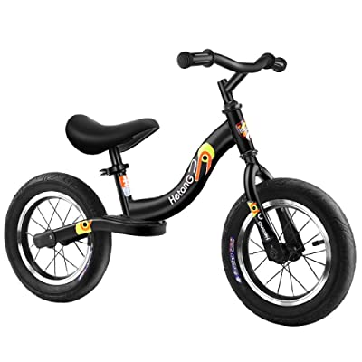 LINGS Foldable Bicycle Kids' Bikes 12 inch Children Bicycle Without Pedals: Home & Kitchen