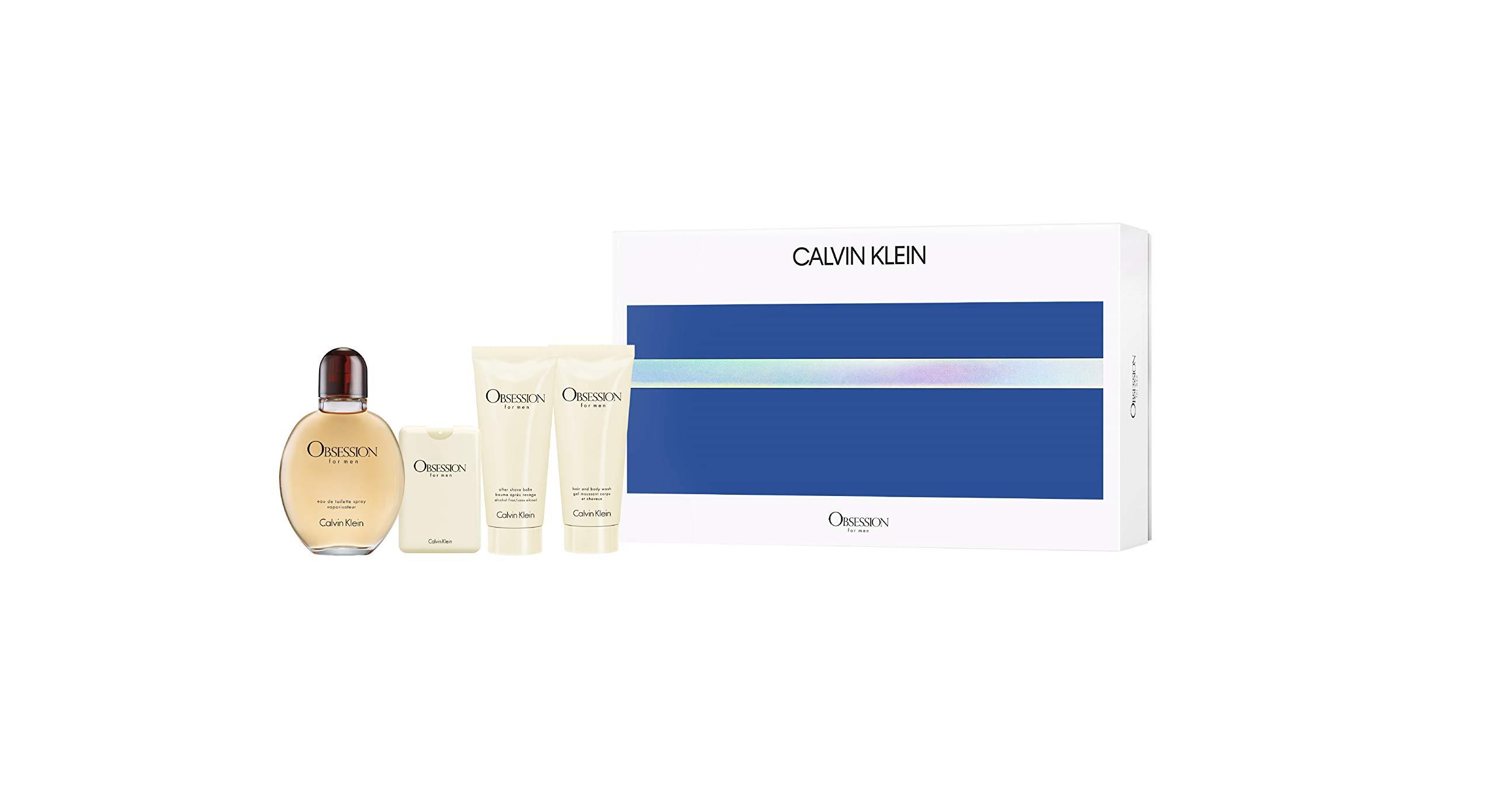 Calvin Klein Obsession For Men National Gift Set, 11.47 oz