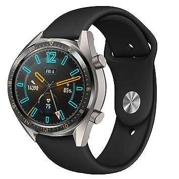Correa Compatible con para Huawei Watch GT Correa, Heligen ...