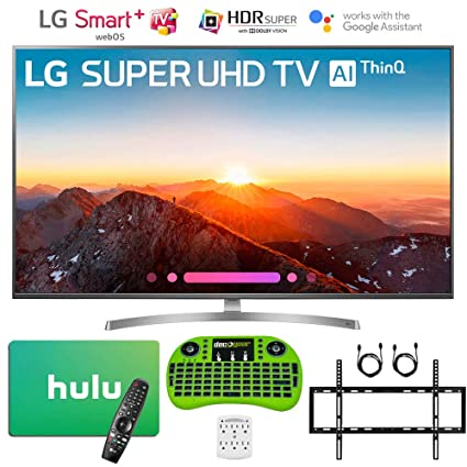 Amazoncom Lg 4k Hdr Smart Led Ai Super Uhd Tv With Thinq 2018