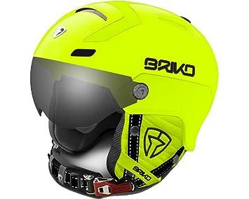 404a0447b5dc Briko Stromboli Visor Photochromic Matte Neon Yellow