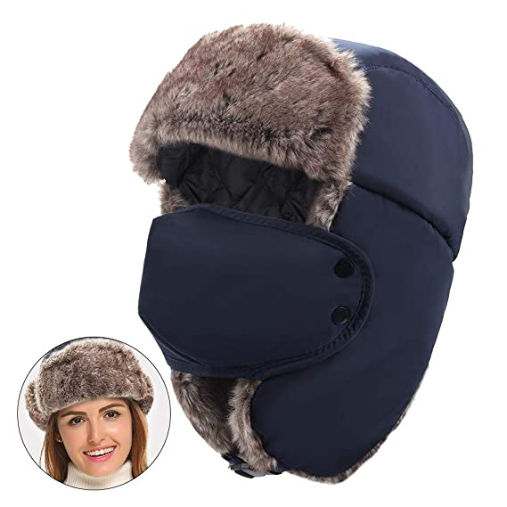 Chapka Trappeur Hiver Chapeau Chaud Bomber RusseBonnet Meetyoo bYf7yvg6