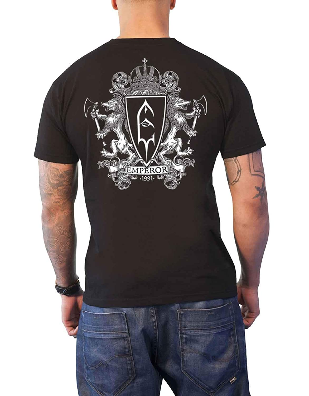 Emperor T Shirt Luciferian Band Logo Nouveau Officiel Homme