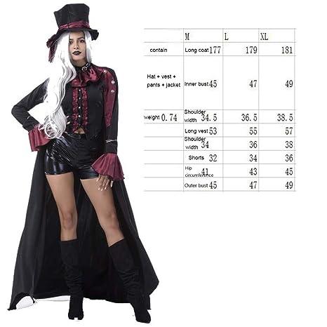 SPFAZJ Tienda de Disfraces de Halloween Rendimiento Vampiro ...