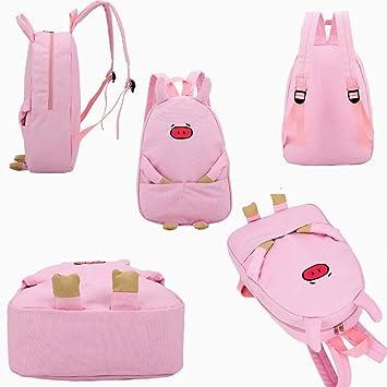 ca07b09ed02f Amazon.com : Hot Sale! Koolee Girls Cute Piggy Print Book Bag Women ...
