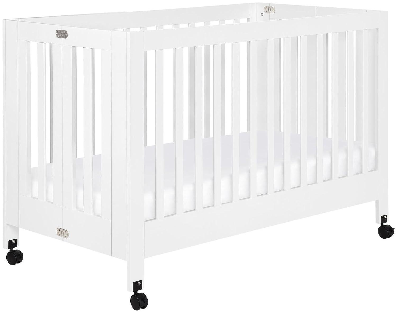 amazon com babyletto maki full size folding crib black baby