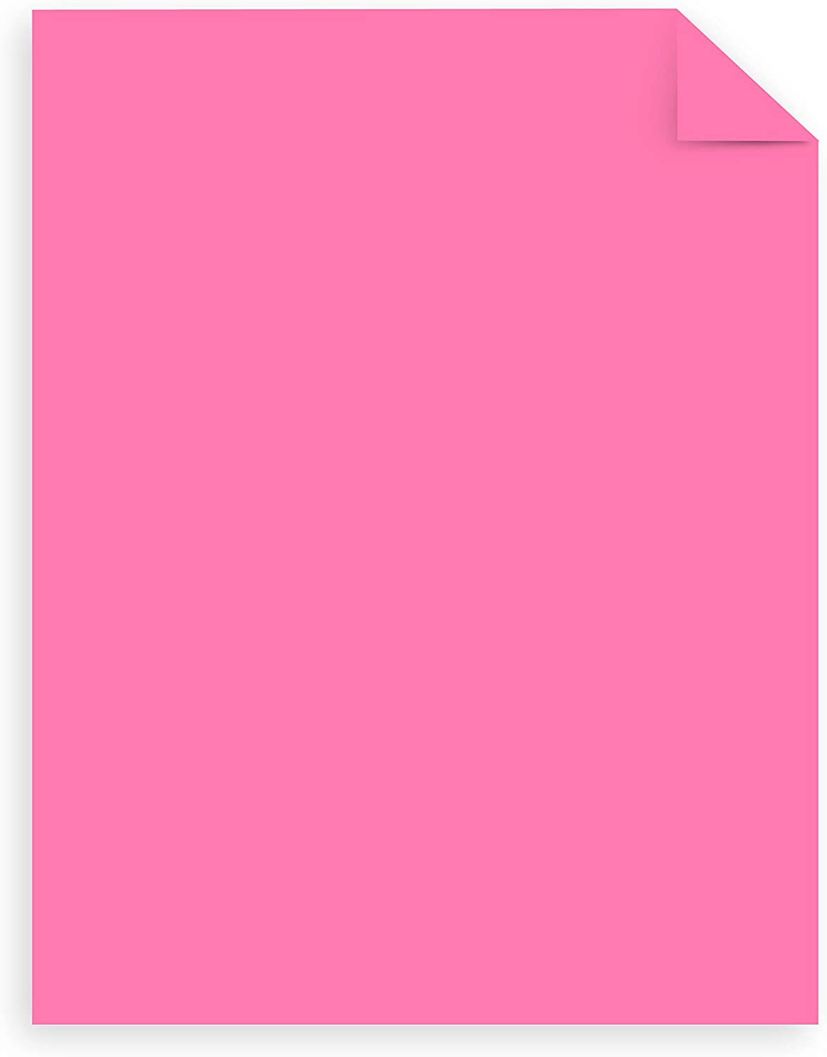 Neon Pink More Sheets! 24 lb//89 GSM 625 CT. Exclusive 91673 Astrobrights Mega Collection Colored Paper 8 /½ x 11