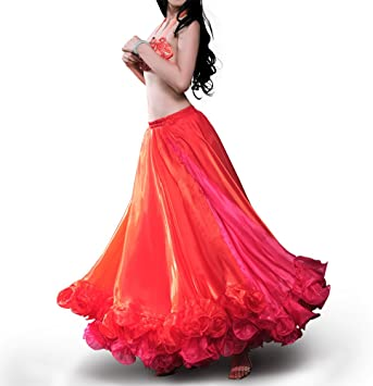 ROYAL SMEELA Falda de la Ropa de la Danza de Vientre para Las ...