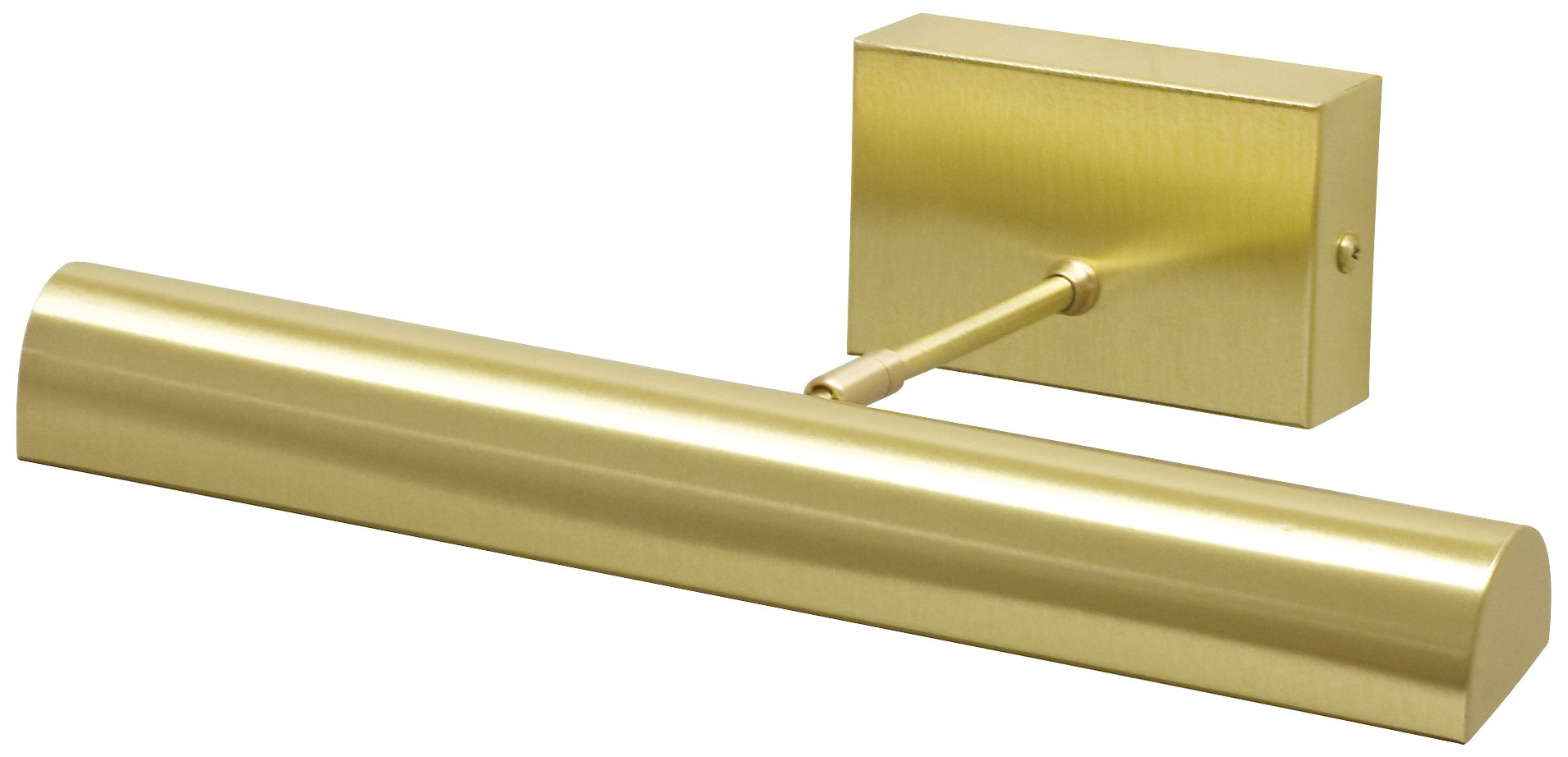 House of Troy BTLED14-51 Classic Battery Operated LED Picture Light, 14'', Satin Brass