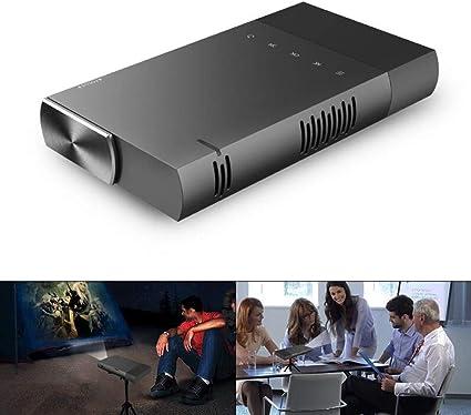 YL-light Proyector portátil 1080P Altavoz Incorporado Recargable ...