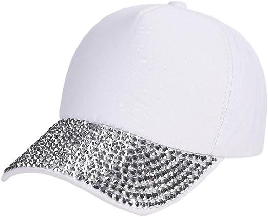 Verano Protección UV Gorra de béisbol con Purpurina Tapa Béisbol ...
