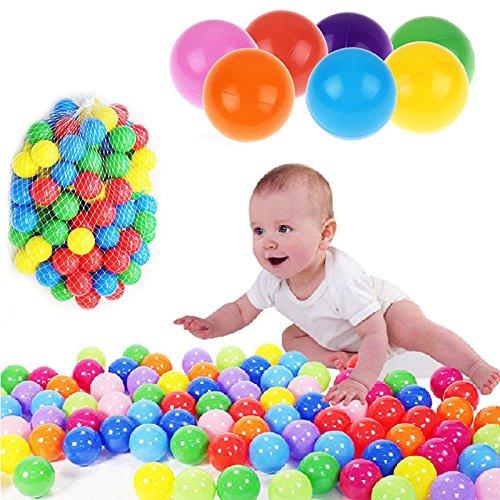 Kachina Pony (S&M TREADE-50pcs Kids Baby Colorful Soft Play Balls Toy for Ball Pit Swim Pit Ball Pool CT6)