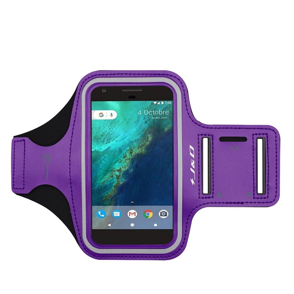 J/&D Compatible para Google Pixel//Google Pixel 2//Google Pixel 3//Google Pixel 3a Brazalete Deportivo para Correr Conexi/ón Auriculares Mientras Ejercicios y Carreras Ranura para Llaves